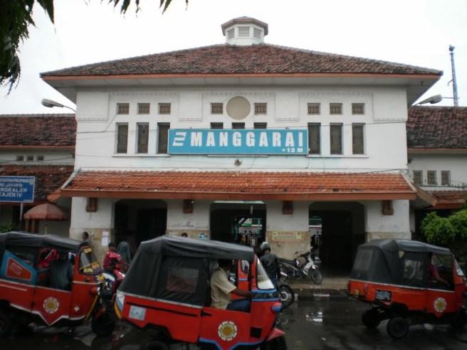 Depo Kereta Api Stasiun Manggarai